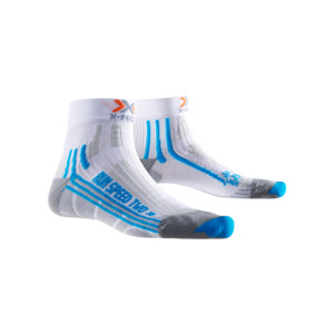X-Socks Run Speed Two Femme Blanc / Turquoise