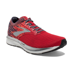 Brooks Ricochet Homme Red/orange/grey