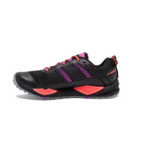 Brooks Cascadia 13 Femme Black/coral/purple