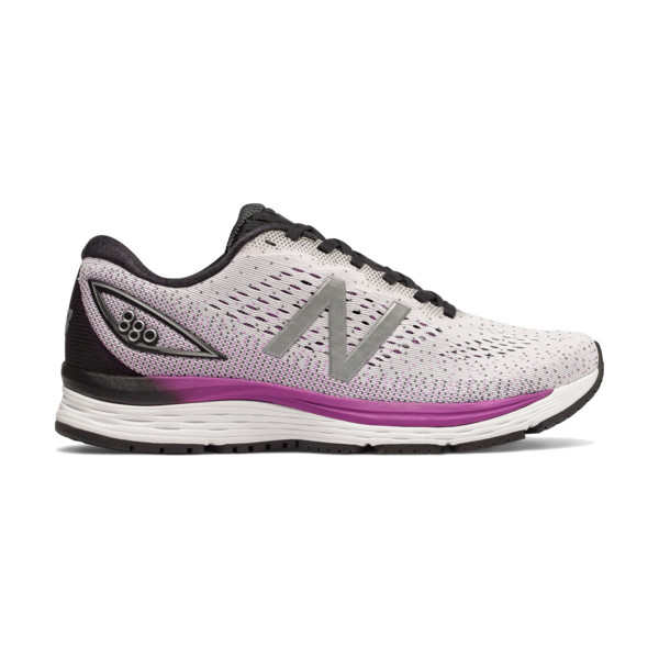 New Balance W880 V7 B Femme White / Purple