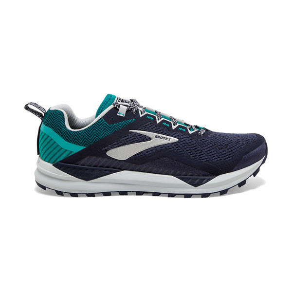 Brooks Cascadia V14 Homme Navy/blue Grass/grey