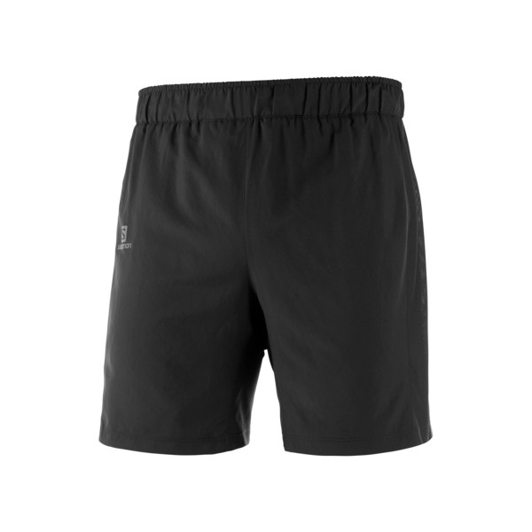 Salomon Agile 2in1 Short Homme Black