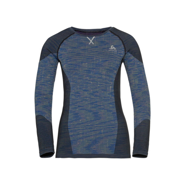 Odlo T-shirt BLACKCOMB Femme Blue Tattoo
