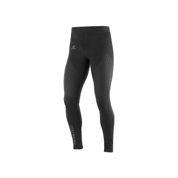 Salomon Exo motion long tight Homme Black