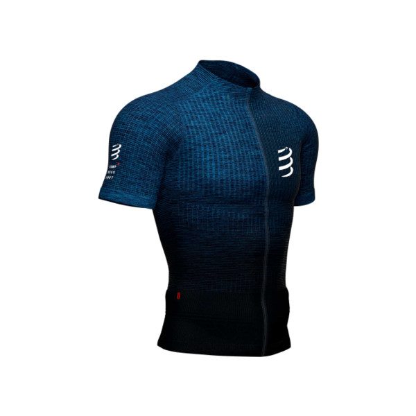 Compressport Trail postural SS Top Blue Melange