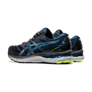 Asics Gel-Nimbus 23 Homme Carrier Grey / Digital Aqua