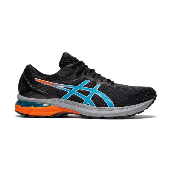 Asics Gt-2000 9 Trail Homme Black / Digital Aqua
