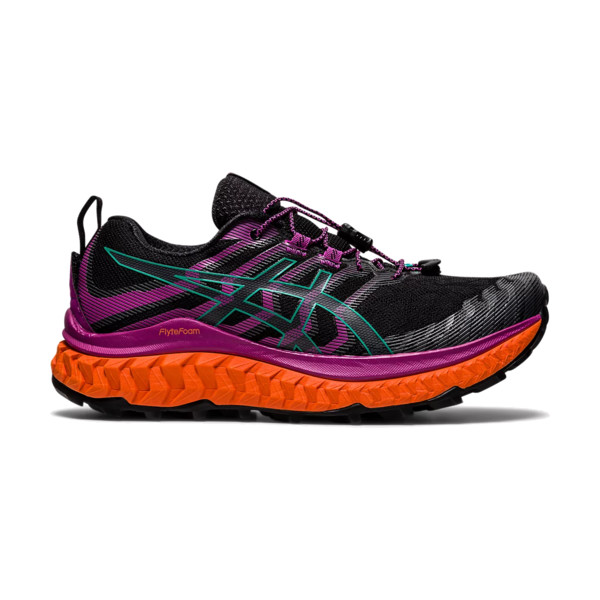 Asics Trabuco max Femme Black / Digital Grape