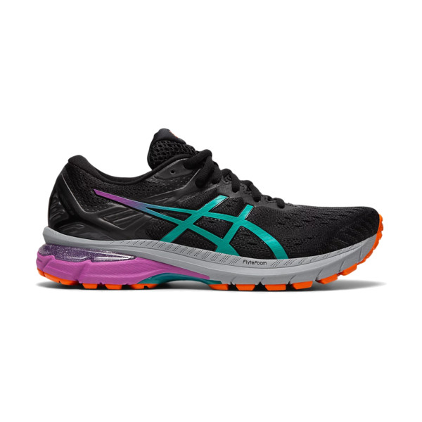 Asics Gt-2000 9 Trail Femme Black / Baltic Jewel