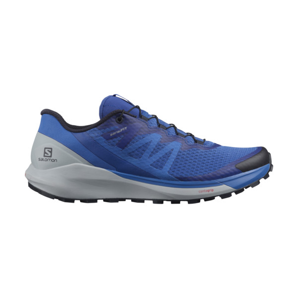 Salomon SENSE RIDE 4 Homme Turkish Sea/pearl Blu