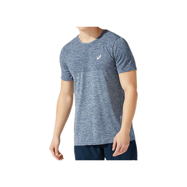 T Shirt Asics Homme French Blue