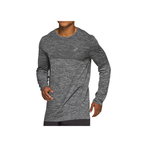 Asics RACE SEAMLESS LS Homme Black