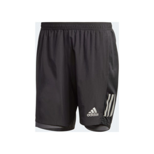 Adidas SHORT OWN THE RUN TWO-IN-ONE Homme Black / Grey