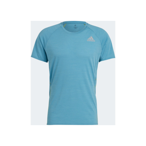 Adidas T-shirt Runner Homme Hazy Blue