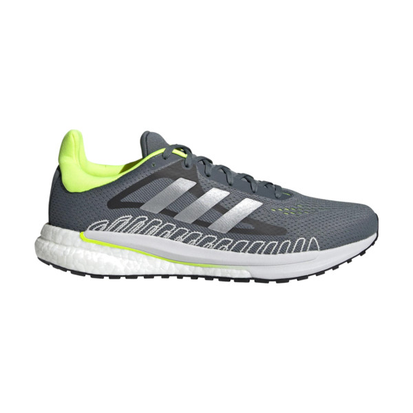 Adidas SOLARGLIDE Homme Blue Oxide / Silver Metallic / Solar Yellow
