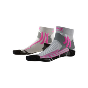X-Socks Run Speed 2 Lady Femme Gris Perle/noir