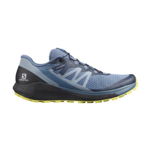 Salomon Sense Ride 4 Homme Copen Blue / Black / Evening Primrose
